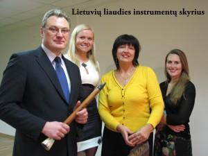 Lietuvių liaudies instrumentų skyriaus mokytojai